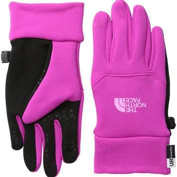 The North Face Girl's Etip Glove Luminous Pink/Gem Pink