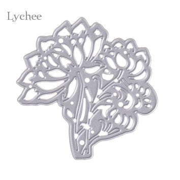 Metal Cutting Dies Stencils Chrysanthemum Tree DIY Scrapbooking Decorative Embossing Folder Suit Paper Card Die Cutting Template