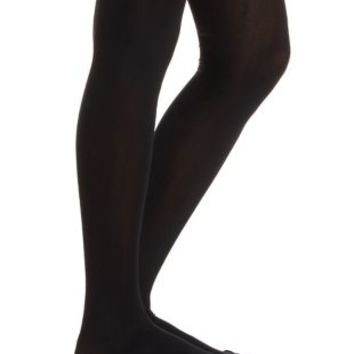 Black 60 Denier Tights by Charlotte Russe