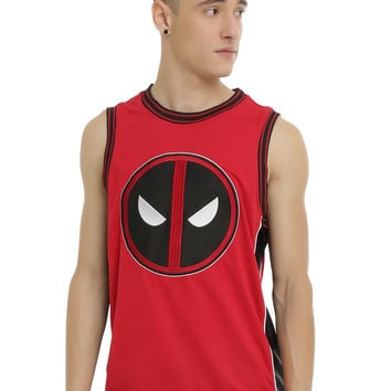 Marvel Deadpool Varsity Tank Top
