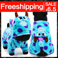 petcircle hot sale pet dog clothes dragon winter dog coats for pitbulls size XXS-L dog costumes coat cute dog parkas