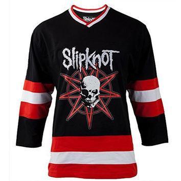 Slipknot - Custer One Adult Replica Hockey Jersey