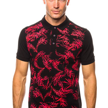 Fred Perry Soho Neon Laurel FP Shirt