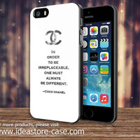 Coco Chanel Quotes For IPod 4/5 IPhone 4/4S/5/5S/5C and Samsung Galaxy S3/S4/S5 Note 3