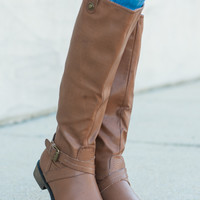 The Zoey Boot, Tan
