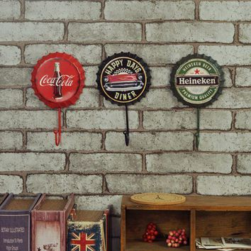 Creative Home Decoration Metal Beer Bottle Hook