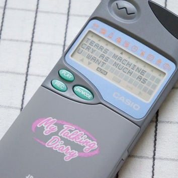 90's Flip Phone Toy, Electronic Diary, Electronic Organizer, Clueless, Fortune Telling, Matching Making, Cyber, Tumblr
