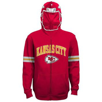 Kansas City Chiefs Full-Zip Fleece Costume Hoodie - Boys 8-20 (Chf Red)