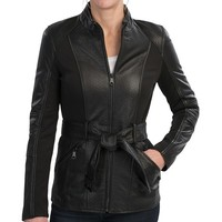 Andrew Marc Bailey Bubble Leather Jacket (For Women)