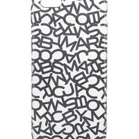 MARC BY MARC JACOBS - Scrambled letter iPhone 6 Plus case | Selfridges.com
