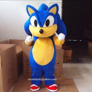 Christmas/Xmas The Hedgehog Mascot Costume,Cosplay Costume,Halloween Costume,Birthday Costume,Party Costume,Hedgehog Cosplay,Clothing