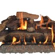 Sure Heat MO24DBNG Sure Heat Mountain Oak Dual Burner Vented Gas Log Set, 24-Inch, Natural Gas