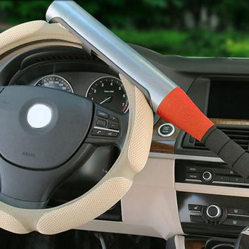 Car lock steering lock anti-theft exhaust pipe baseball
