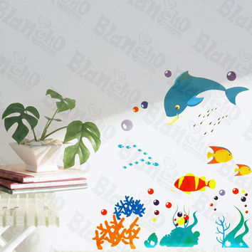 Magical Aquarium - Wall Decals Stickers Appliques Home Decor