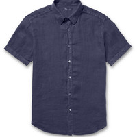 Theory - Coppolo Slim-Fit Linen Shirt | MR PORTER