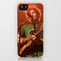 Ed Sheeran - Live in Philly iPhone Case by Chris Klemens