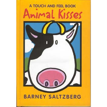 LS&S 521011 Braille Animal Kisses Board Book