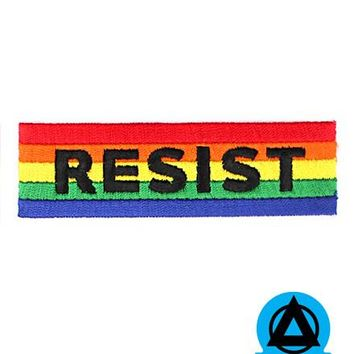 RESIST Patch - Rainbow