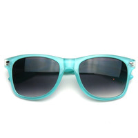 Pastel Candy Color Frame Retro Classic Wayfarer Sunglasses