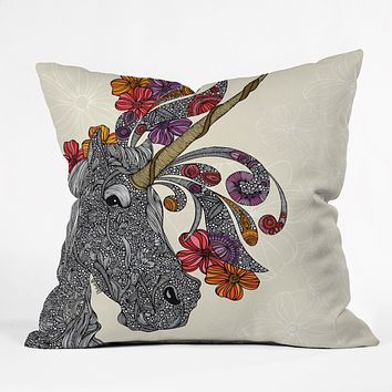 Valentina Ramos Unicornucopia Throw Pillow