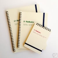 DELFONICS Rollbahn Notebook Cream