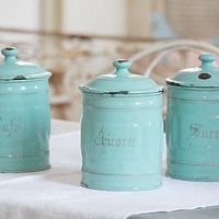 Decorative Country Living - Vintage - Enamelware