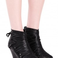 Jeffrey Campbell Shoes LACETS Shop All in Black