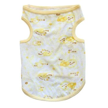 Yellow Playful Summer Dog Top