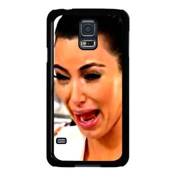 Kim Kardashian Crying Samsung Galaxy S5 Case