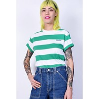 Tomboy Stripe Tee by Dickies Girl - Kelly Green