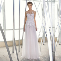 Gloria wedding gown by Mira and Lihi Zwillinger