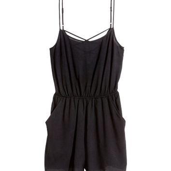 Jumpsuit with Short Legs - from H&M
