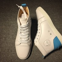 Christian Louboutin CL Fashion casual Sneakers Shoes Size 36-46