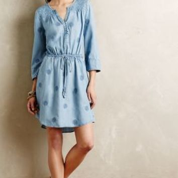 Plumage Chambray Dress by Holding Horses Light Denim
