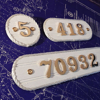 Br House Number Plaque Home Address Plate Condo