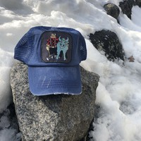 Friends of the Northwoods Blue adjustable ball cap
