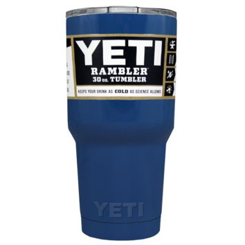 Promotional YETI 30 oz Savannah Blue Custom Tumbler