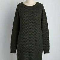 Knit the Big Time Sweater Dress