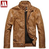 New Arrivals Autumn Leather Jacket for Men Jacques Men's Bomber Leather Coat Fur Motorcycle Jackets