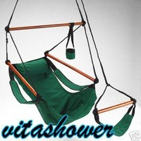 Super Deluxe Sky Hanging Air Chair - Hammock Swing with Pillow