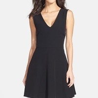 Women's FELICITY & COCO Back Cutout Fit & Flare Dress ,