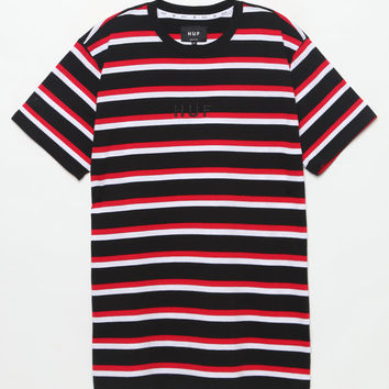 HUF Black Widow Striped T-Shirt at PacSun.com