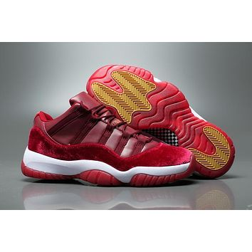 Air Jordan 11 Retro Aj11 Low Velvet Heiress Sneaker Shoes Us5.5 13 | Best Deal Online