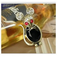 New Arrival Cute Mouse Pattern Design Brooch For Female China Wholesale - Sammydress.com