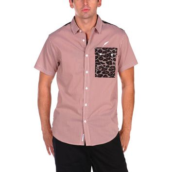 Publish Jair Leopard Pocket Button Down