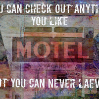 Art Photo, Song Quote, Typography, Photographic Art, Wall Art, Home Decor, Photographic Print, Surreal Art, Photo Prints, Hotel California