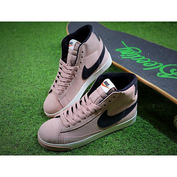Nike Blazer Mid Vintage X BEAUTY & YOUTH Pink Black Shoes