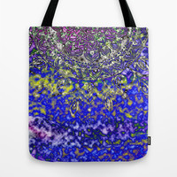 Multicolor Mandala Art Tote Bag by Li Zamperini