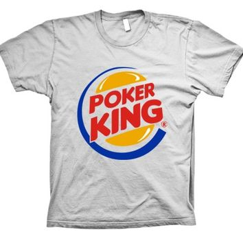 Funny Poker King T-shirt
