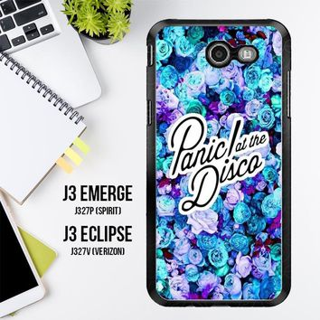 Panic At The Disco Flower X4351 Samsung Galaxy J3 Emerge, J3 Eclipse , Amp Prime 2, Express Prime 2 2017 SM J327 Case